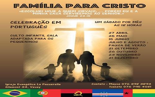 Celebração em português